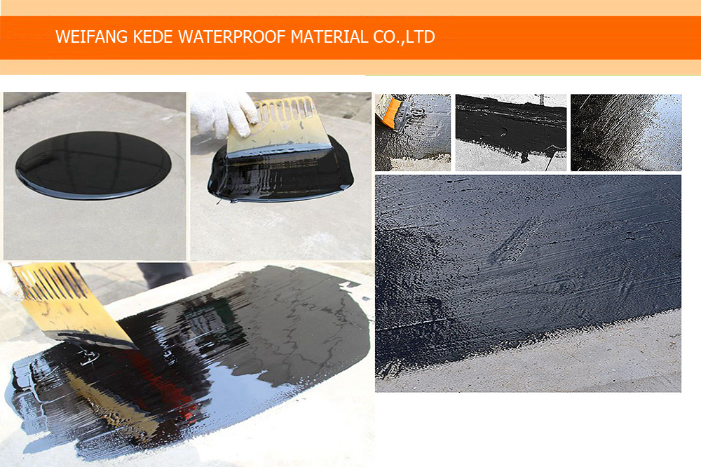 Non-curing Rubber Bitumen Waterproof Coating
